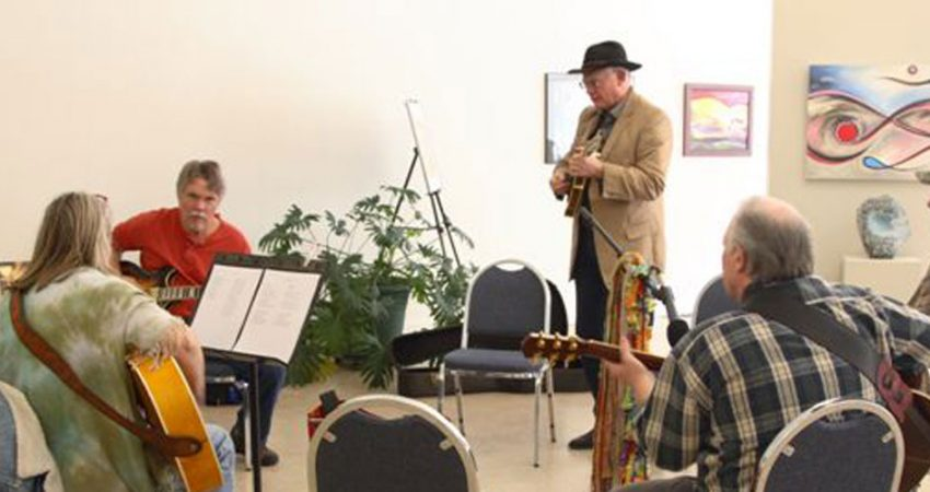 The Lincoln Art Center's Old Time Music Jam is the 4th Saturday each month from 1 to 4 p.m. Everyone is welcome to come and play, or just come to listen and enjoy the music!